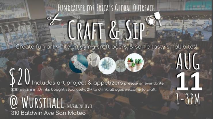 Craft & Sip Flyer